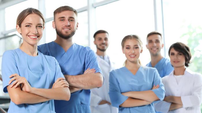 Gruppe Pflegepersonal © New Africa, stock.adobe.com