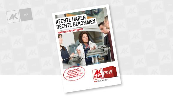Cover der Broschüre © Sebastian Philipp, AK Wien