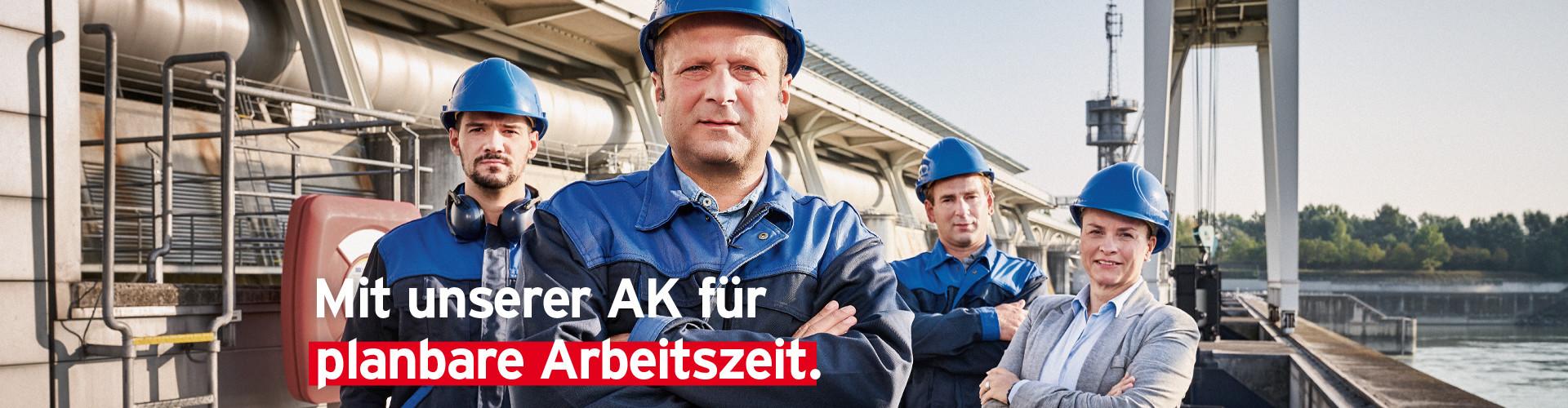 Mit unserer AK für planbare Arbeitszeiten © Robert Staudinger - TBWA, Arbeiterkammer