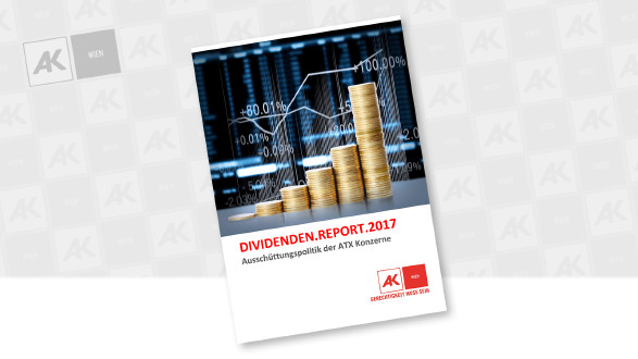 "Studie ""Dividenden-Report"" © AK Wien"