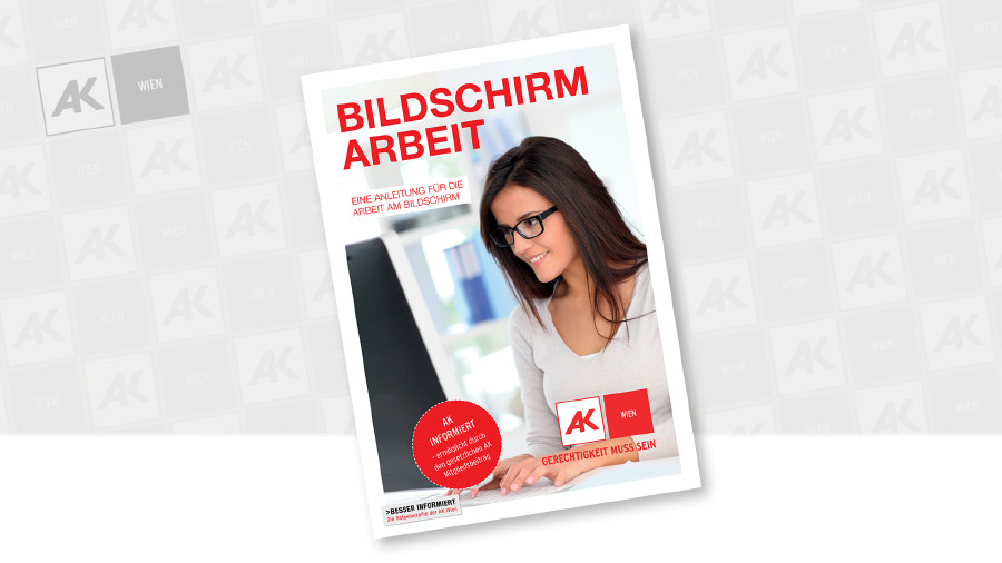 Cover der Broschüre © Leopold Neumüller, AK Wien