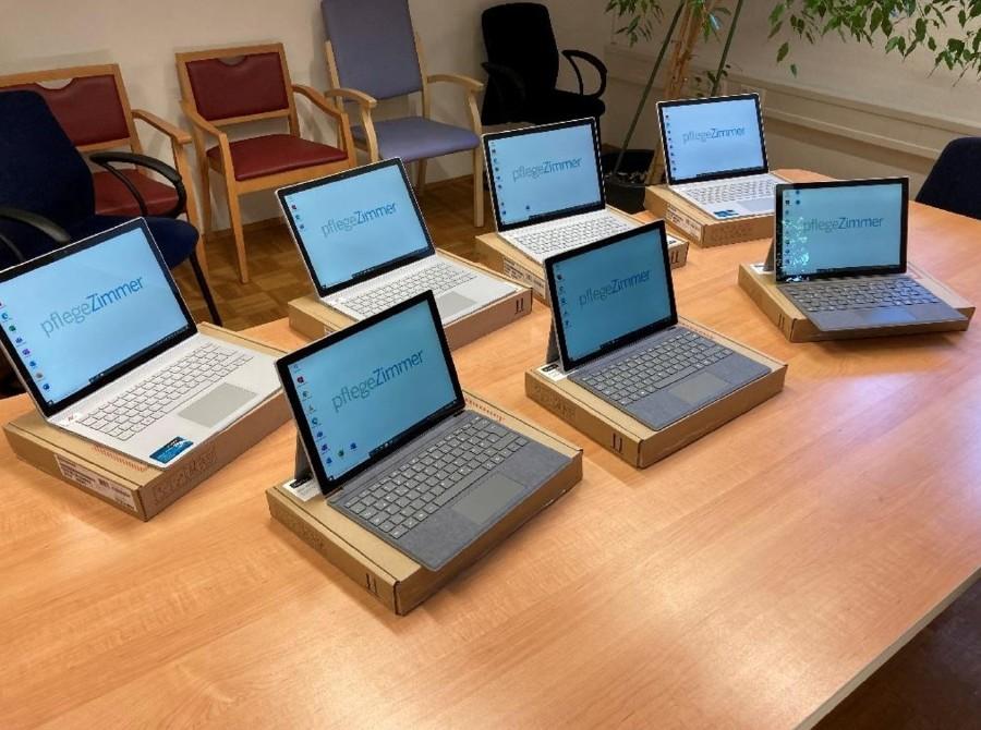 Vom AK-Zukunftsfonds geförderte Hardware © -, Arbeiterkammer Oberösterreich