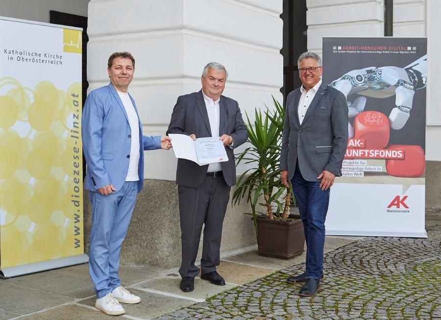 Zukunftsfonds Diözese Linz © -, AK OÖ