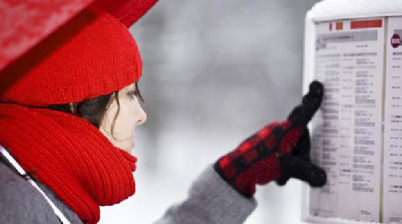 Dienstverhinderung im Winter © Claudia Paulussen, Fotolia