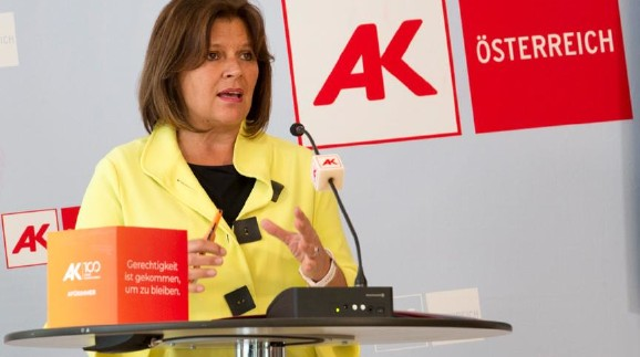 Die Arbeiterkammern präsentieren ihren Plan, Österreich neu zu starten. © AK