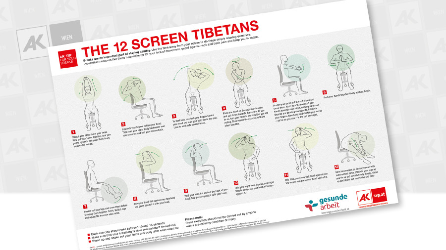 12 Tibetans - Poster © Andreas Kuffner, B.A.C.K. Grafik und Multimedia GmbH
