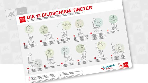 12 Tibeter - Plakat © Andreas Kuffner, B.A.C.K. Grafik und Multimedia GmbH