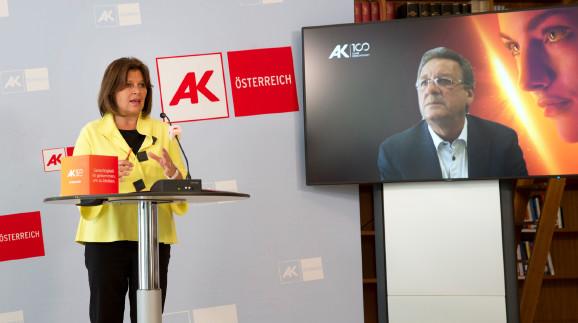 AK Präsidentin Renate Anderl, AK Tirol Präsident Erwin Zangerl  © Lisi Specht