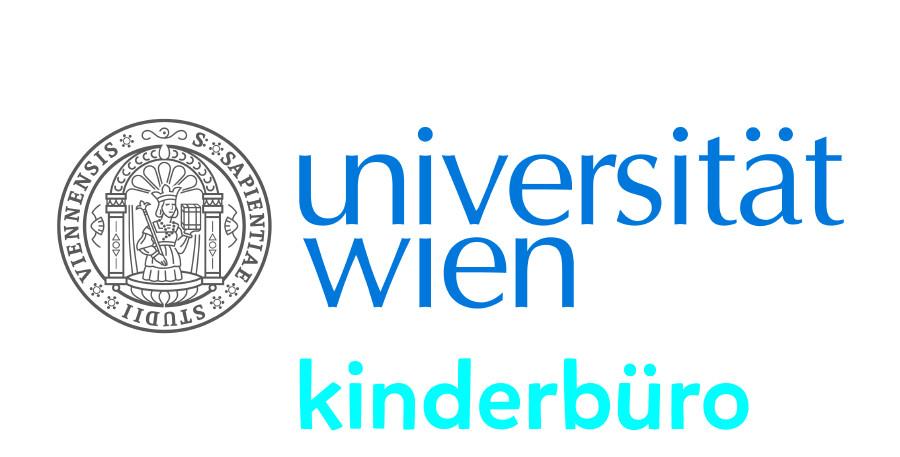 Logo Universität Wien Kinderbürof © Universität Wien,