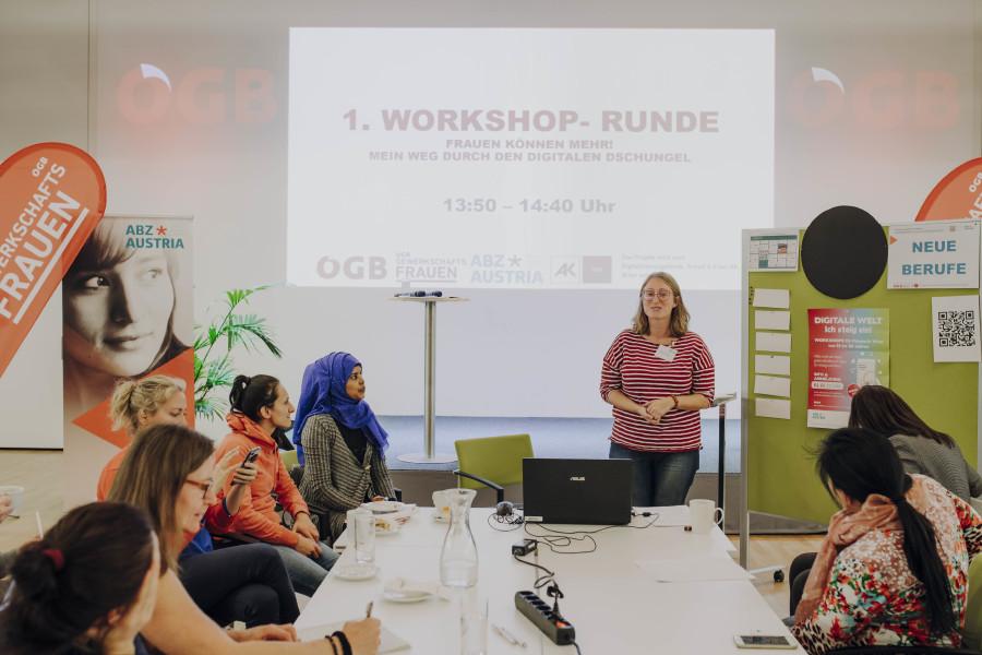 Frauen können mehr - Workshop © ÖGB Frauen