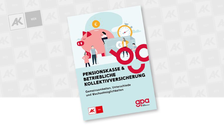 Cover der Broschüre © GPA, Coverfoto: liravega - iStock