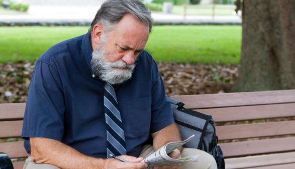 Älterer Arbeitsloser © Sframe, stock.adobe.com