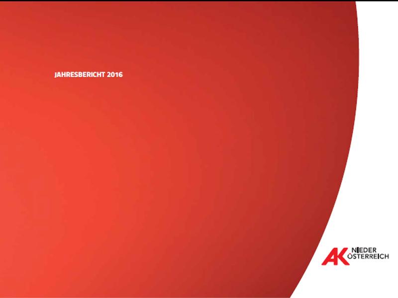Deckblatt Jahresbericht 2016 © Rauch-Gessl